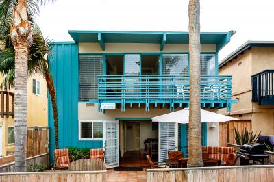 South Mission Oceanview Duplex 4 Bedroom - San Diego Vacation Rental