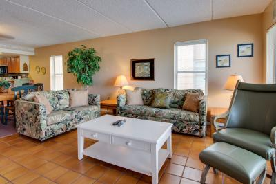 Beachview Condominiums: Palm Tree Pathway (#303) - South Padre Island Vacation Rental