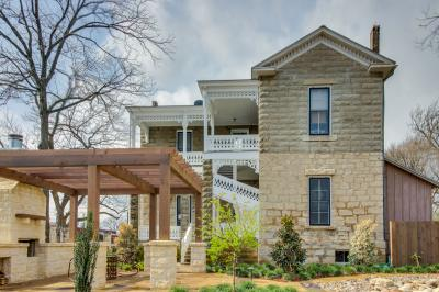 Van Der Stucken Wilke House: VanDerStucken Suite - Fredericksburg Vacation Rental