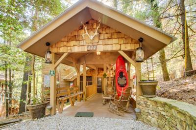Moonshine Rapids Cabin - Ellijay Vacation Rental