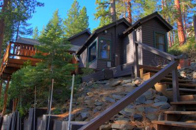 Classic Tahoe City Lakeview Cabin - Carnelian Bay Vacation Rental
