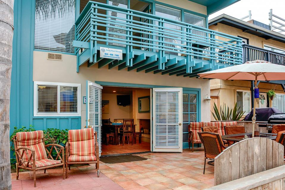 South Mission Oceanview Duplex - San Diego Vacation Rental