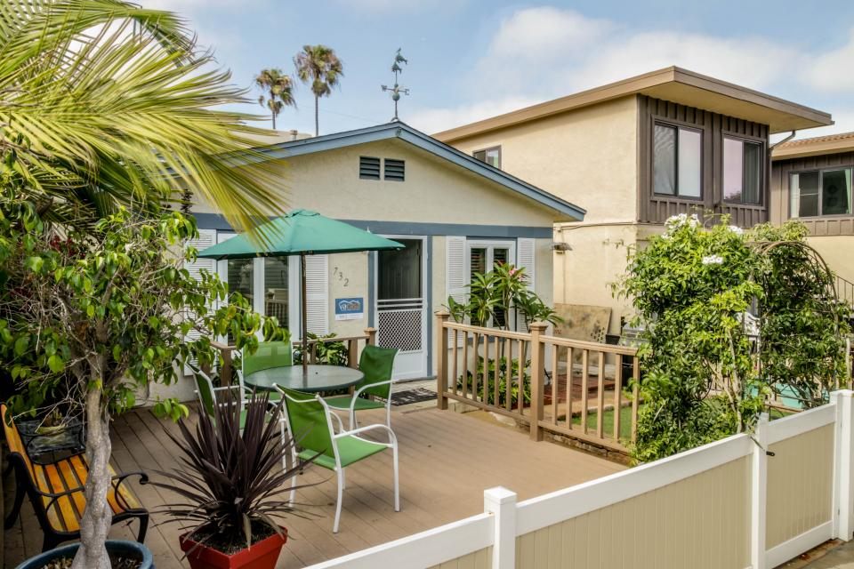 Jamaican Beach Cottage - San Diego Vacation Rental