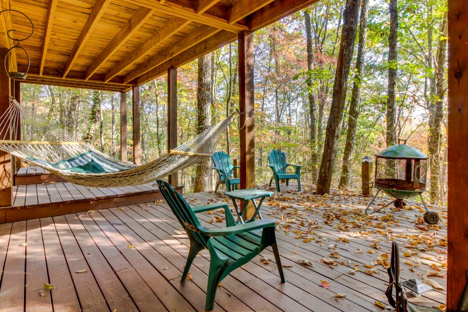 Laughing Hippo Cabin - Blue Ridge Vacation Rental